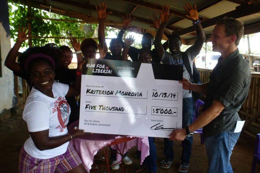 Kriterion Monrovia Spende Run For