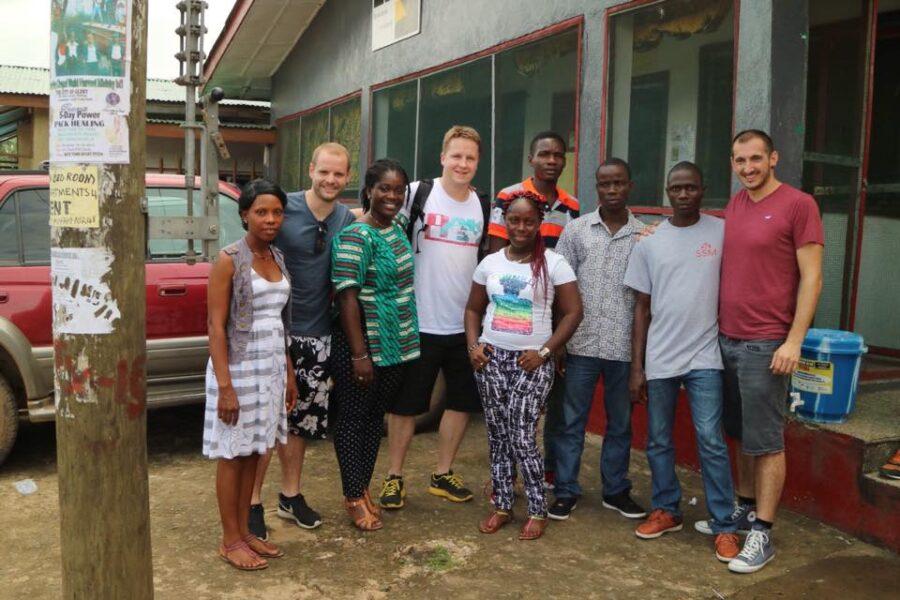 Kriterion Monrovia Besuch Run For